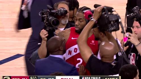 2019年NBA总决赛G6第六场 勇士VS猛龙 全场录像回放视频