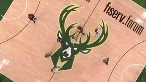 2019年10月10日NBA季前赛 爵士VS雄鹿 全场录像回放视频