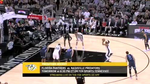 2019年10月19日NBA季前赛 灰熊VS马刺 全场录像回放视频