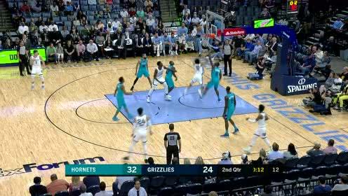 [原声回放]NBA季前赛:黄蜂vs灰熊 第2节