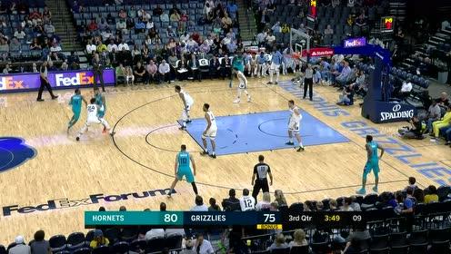 [原声回放]NBA季前赛:黄蜂vs灰熊 第3节
