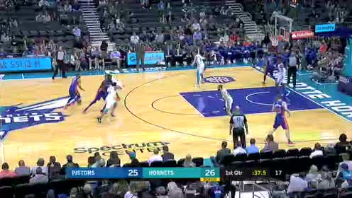 2019年10月17日NBA季前赛 活塞VS黄蜂 全场录像回放视频
