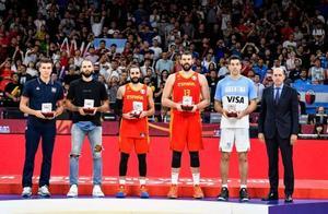 篮球世界杯最佳阵容,这是什么神仙实力?能夺得NBA总冠军吗?