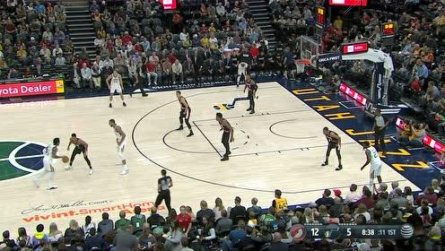 2019年10月17日NBA季前赛 开拓者VS爵士 全场录像回放视频