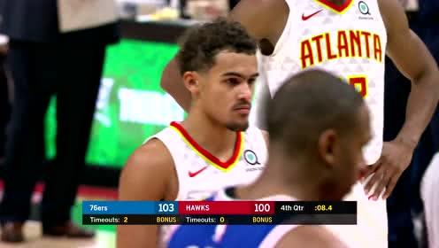 2019年10月29日NBA常规赛 76人VS老鹰 全场录像回放视频