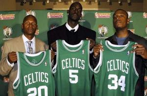 追溯NBA联盟最早球星抱团源头,凯尔特人并不是最早抱团的球队