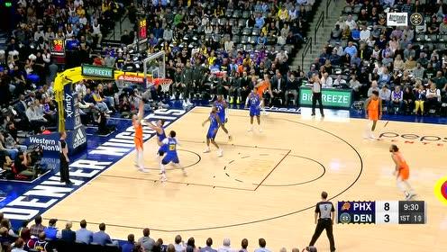 2019年10月26日NBA常规赛 太阳VS掘金 全场录像回放视频