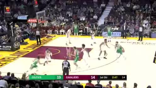 2019年10月16日NBA季前赛 凯尔特人VS骑士 全场录像回放视频
