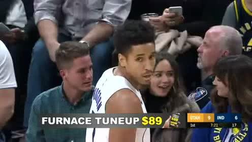 2019年11月28日NBA常规赛 爵士VS步行者 全场录像回放视频