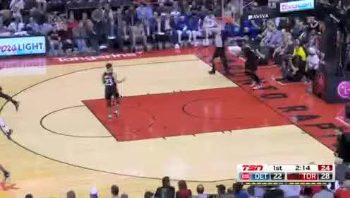 2019年10月31日NBA常规赛 活塞VS猛龙 全场录像回放视频