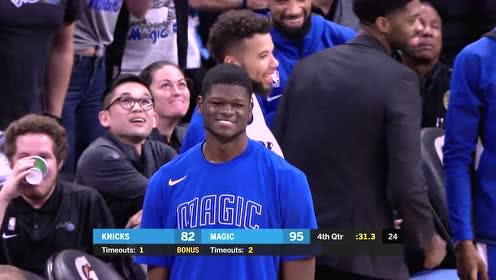 2019年10月31日NBA常规赛 尼克斯VS魔术 全场录像回放视频