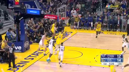 2019年11月03日NBA常规赛 黄蜂VS勇士 全场录像回放视频