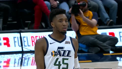 2019年11月13日NBA常规赛 篮网VS爵士 全场录像回放视频