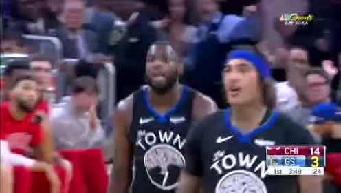 2019年11月28日NBA常规赛 公牛VS勇士 全场录像回放视频