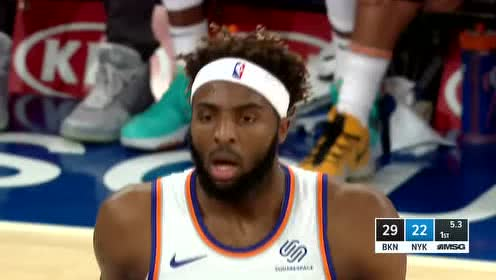 2019年11月25日NBA常规赛 篮网VS尼克斯 全场录像回放视频