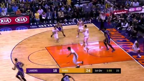 2019年11月13日NBA常规赛 湖人VS太阳 全场录像回放视频