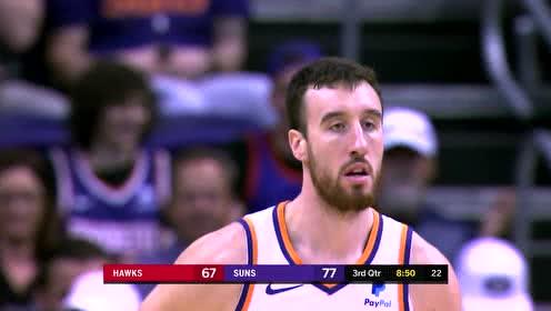 2019年11月15日NBA常规赛 老鹰VS太阳 全场录像回放视频