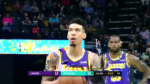2019年11月24日NBA常规赛 湖人VS灰熊 全场录像回放视频
