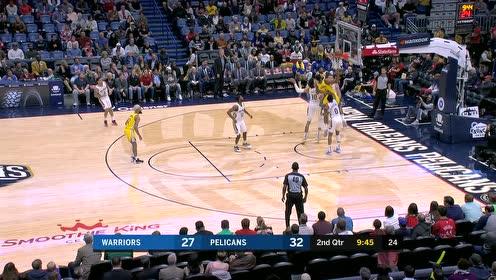 2019年11月18日NBA常规赛 勇士VS鹈鹕 全场录像回放视频
