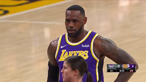 2019年11月16日NBA常规赛 国王VS湖人 全场录像回放视频