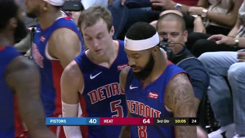 2019年11月13日NBA常规赛 活塞VS热火 全场录像回放视频