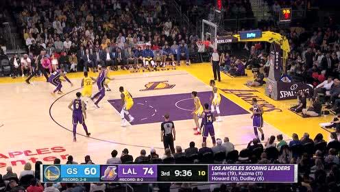 2019年11月14日NBA常规赛 勇士VS湖人 全场录像回放视频