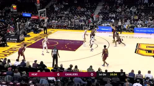 2019年11月15日NBA常规赛 热火VS骑士 全场录像回放视频