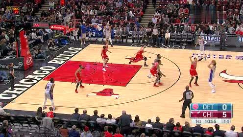 2019年11月21日NBA常规赛 活塞VS公牛 全场录像回放视频