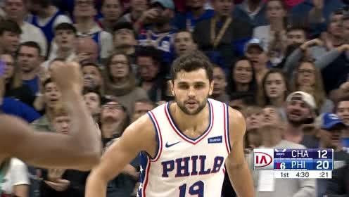 2019年11月11日NBA常规赛 黄蜂VS76人 全场录像回放视频