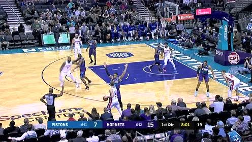 2019年11月28日NBA常规赛 活塞VS黄蜂 全场录像回放视频