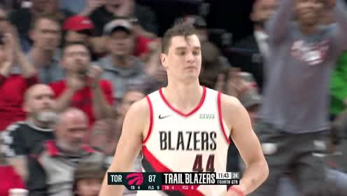 2019年11月14日NBA常规赛 猛龙VS开拓者 全场录像回放视频