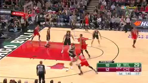 2019年11月19日NBA常规赛 雄鹿VS公牛 全场录像回放视频