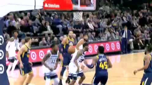 2019年11月21日NBA常规赛 爵士VS森林狼 全场录像回放视频
