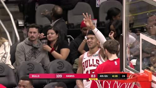 2019年11月07日NBA常规赛 公牛VS老鹰 全场录像回放视频