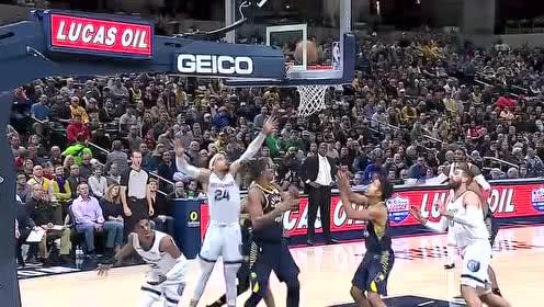2019年11月26日NBA常规赛 灰熊VS步行者 全场录像回放视频