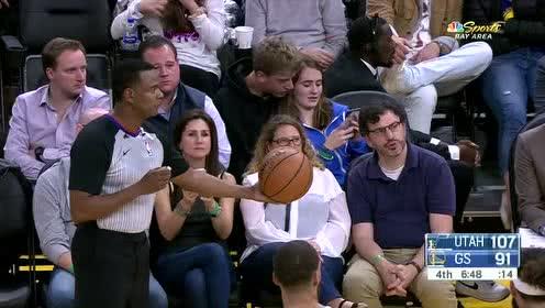 2019年11月12日NBA常规赛 爵士VS勇士 全场录像回放视频