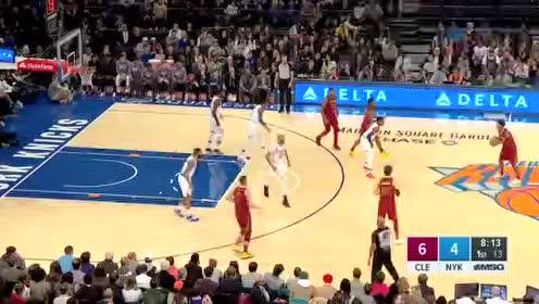 2019年11月11日NBA常规赛 骑士VS尼克斯 全场录像回放视频