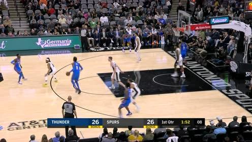 2019年11月12日NBA常规赛 灰熊VS马刺 全场录像回放视频