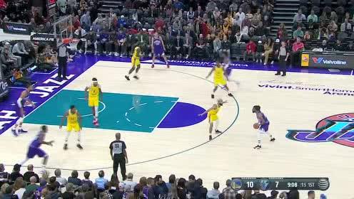 2019年11月23日NBA常规赛 勇士VS爵士 全场录像回放视频