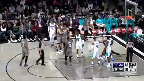 2019年11月21日NBA常规赛 黄蜂VS篮网 全场录像回放视频
