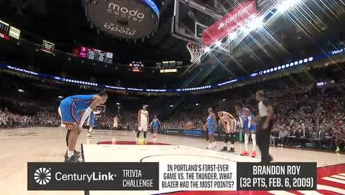 2019年11月28日NBA常规赛 雷霆VS开拓者 全场录像回放视频