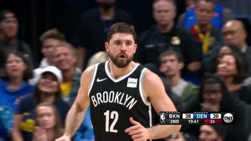 2019年11月15日NBA常规赛 篮网VS掘金 全场录像回放视频