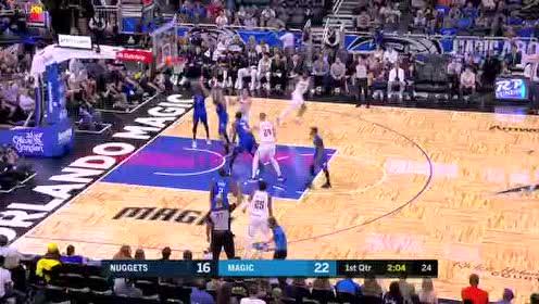 2019年11月03日NBA常规赛 掘金VS魔术 全场录像回放视频
