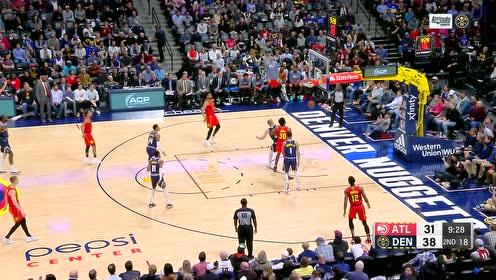 2019年11月13日NBA常规赛 老鹰VS掘金 全场录像回放视频