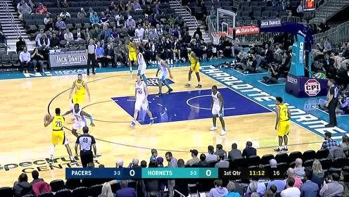 2019年11月06日NBA常规赛 步行者VS黄蜂 全场录像回放视频