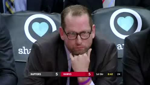 2019年11月24日NBA常规赛 猛龙VS老鹰 全场录像回放视频