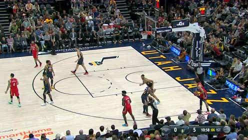 2019年11月24日NBA常规赛 鹈鹕VS爵士 全场录像回放视频