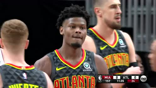 2019年11月01日NBA常规赛 热火VS老鹰 全场录像回放视频