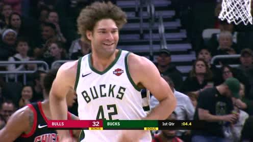 2019年11月15日NBA常规赛 公牛VS雄鹿 全场录像回放视频