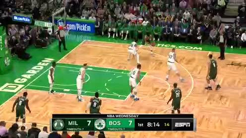 2019年10月31日NBA常规赛 雄鹿VS凯尔特人 全场录像回放视频